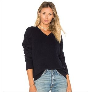 Vince cashmere navy sweater